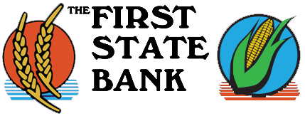 The First State Bank of Norton Logo